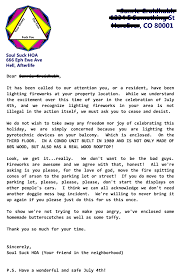 hilarious hoa stories letter from my hoa over my fireworks ramblings from the sunrie
