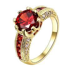 crystal fashion rings images Swarovski clear crystal ruby personalized fashion jpg