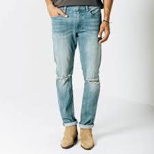 mens light blue jeans skinny mens skinny slim destructed jeans in light wash 95 dstld