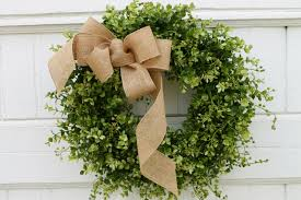 Halloween Door Wreaths Guides U0026 Ideas Simple Boxwood Wreath Design For Home Accessories
