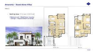 Floor Plan Of Burj Khalifa by Floor Plans Villanova Dubai Land By Dubai Properties