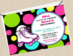 free printable zebra birthday party invitations skating party invitation template etame mibawa co