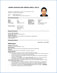 exle of curriculum vitae in malaysia exle cv structural engineer personal statement how to write