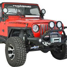 2011 jeep wrangler fender flares 97 06 jeep wrangler tj steel front fender w flare mesh insert black