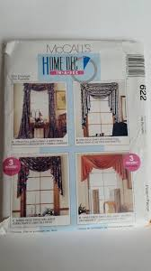 vintage mccall u0027s crafts sewing pattern 622 home decor in a sec