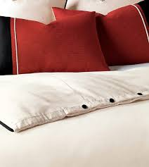 niche luxury bedding by eastern accents witcoff ivory duvet cover