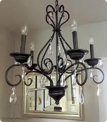 pottery barn knock off lighting craigslist crystal chandelier makeover a pottery barn knock off