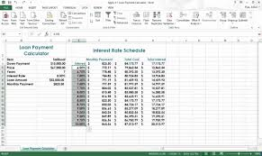 Car Loan Amortization Spreadsheet by Excel Amortization Table Assignment Youtube