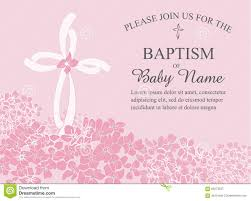 Example Of Baptismal Invitation Card Baptism Template Thebridgesummit Co