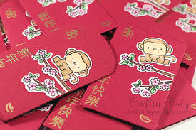 lucky envelopes 2016 year of the monkey lucky envelopes craftin caly