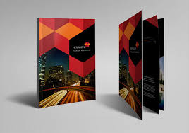 download hexagon hotel brochure design template for free tidyform