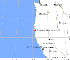 map of cities in california crescent city california ca 95531 profile population