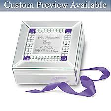 Engraved Music Box Music Box Granddaughter I Love You Personalized Music Box