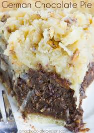 german chocolate pie omg chocolate desserts
