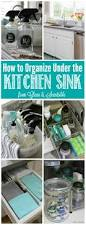organizing under the kitchen sink clean and scentsible