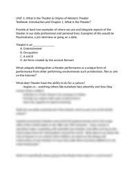 Opulent Used In A Sentence Midterm Study Guide Thtr 1001 E01 Docx Theatre 1001 With Kent