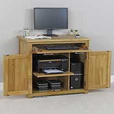 Computer Desk Cabinets Hideaway Furniture Hideaway Workstation Hideaway Desk Small Secretary