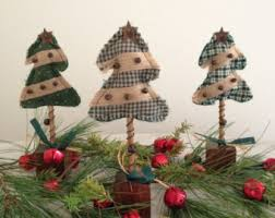 primitive christmas tree primitive tree etsy