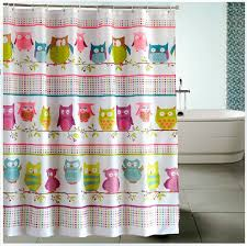 kids owl shower curtains liner extra long shower curtain buytra com