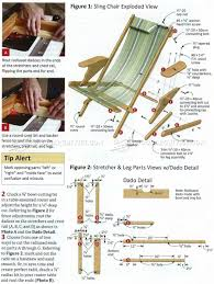 how to build a sling chair u2013 a website for all the ideas you will