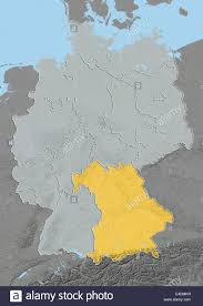 Map Of Bavaria Germany by State Of Bavaria Germany Relief Map Stock Photo Royalty Free