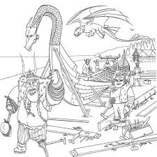 kids fun uk 7 coloring pages train dragon 2
