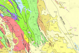California Fault Map Department Of Conservation Map Server