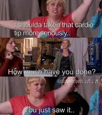 Fat Amy Memes - pitch perfect pitchperfectmovie fat amy gets my gym usage lol