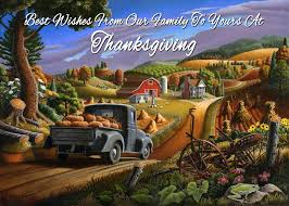 no 17 best wishes from our family to yours at thanksgiving