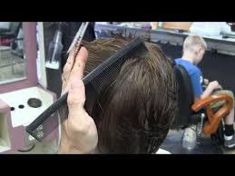 90 degree triangle haircut short scissor haircut barber school 90 degree radial haircut