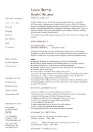 Best Graphic Designer Resumes by Graphic Designer Resume Sample The Best Resume