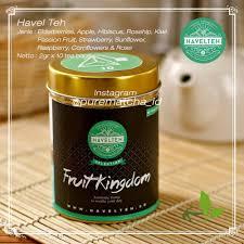 Teh Fruity jual havel teh fruit kingdom black tea w fruit tisane tea blend