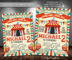best 25 carnival birthday invitations ideas on pinterest circus