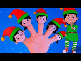 elves finger family christmas songs xmas christmas carols