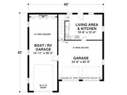 Garage Floor Plans With Living Quarters Download Rv Garage House Plans Adhome