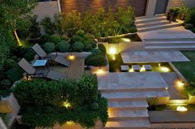 garden lighting plan for every garden type the appropriate