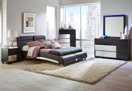 Coaster Furniture Bedroom Sets by Jeremaine Collection 300350 Modern Bedroom Set With Sterling
