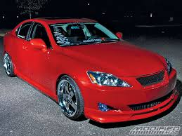 red lexus 2008 jason hughes 2006 lexus is250 awd modified magazine
