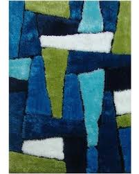 Bright Green Rug Bargains On La Rug Bright Multi Color Area Rug Rugs Carpet Shag