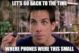 Phone Meme - zoolander tiny phone memes imgflip