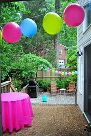Easter Decorations With Balloons by