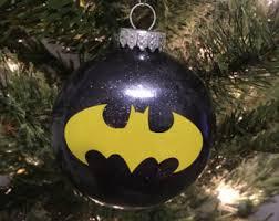batman ornament etsy