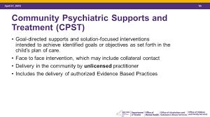 children u0027s mrt health and behavioral health subcommittee ppt