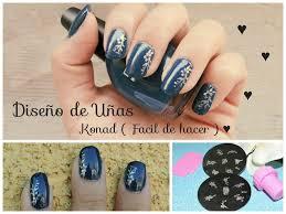 imagenes de uñas decoradas con konad diseño de uñas konad fácil y bien explicado youtube