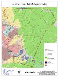 Colorado River Texas Map by Aquifers U2013 Central Texas Groundwater Conservation District