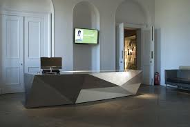 Reception Desks Modern Awesome Craftwand Reception Desk Design From Pics For Office Front