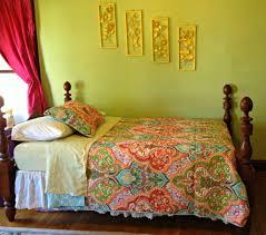 bedding better homes and gardens damask piece bedding forter set