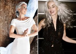 old hair at 59 59 year old grandmother still going strong as a fashion model