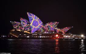 of sydney opera house light show plagued by and