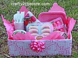 chagne gift basket meal box a creative idea for taking a meal to someone change it